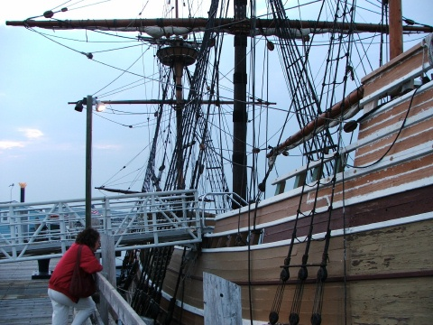 Mayflower II in Plymouth, Massachusetts